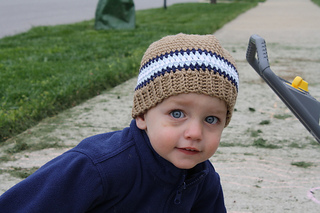 203a9f48b296a Ravelry  Beanie with Ribbed Edge pattern by Jessica Zoz