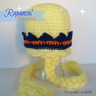 125f2387edb Ravelry  Rapunzel Beanie pattern by Tia Davis