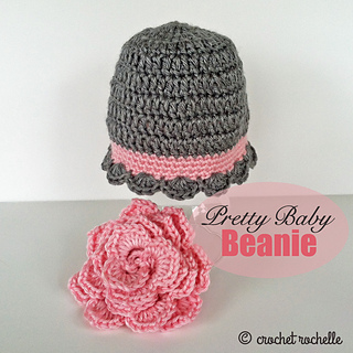 80162e221 Ravelry: Pretty Baby Beanie pattern by Tia Davis