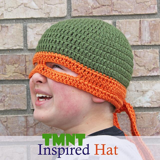 Ravelry Tmnt Inspired Hat Pattern By Tia Davis