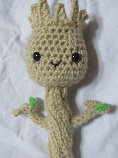 Amigurumi Patterns Groot : Ravelry: Baby Groot Amigurumi pattern by Tiffany Wilson
