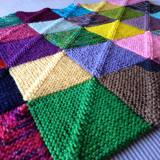 Knitting Pattern For Peggy Squares : Ravelry: memory blanket pattern by Georgie Nicolson