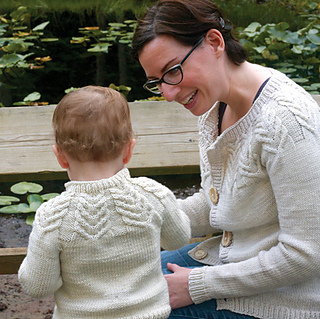 Antler Cardigan by Tin Can Knits (Copyright Tin Can Knits)