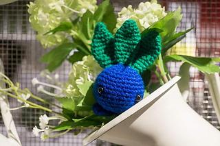 Ravelry: Oddish from Pokemon Amigurumi pattern by Tiny ...