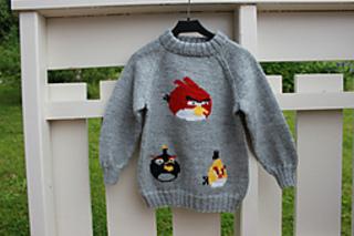7afaafd4e Ravelry: tiramy's Angry Bird genser