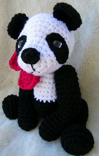 Ravelry Simply Cute Panda Bear Pattern By Teri Crews