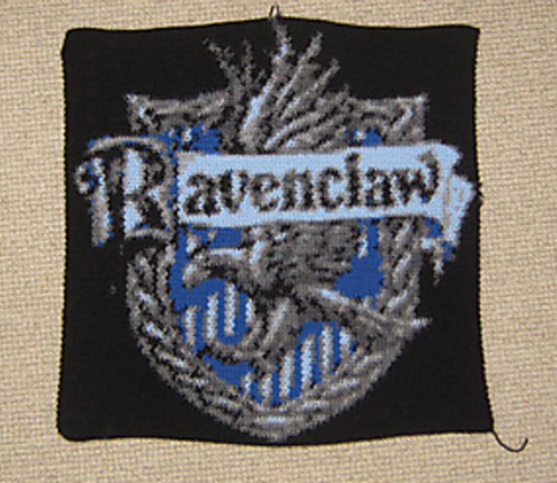Ravelry Ravenclaw House Crest Pattern By Lee Mac