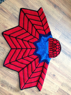 Superhero Cape pattern by Heidi Yates