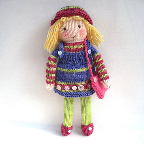 12 Knitted Doll Patterns The Funky Stitch