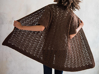 Zoe Cardi (Single Knitting Pattern)