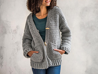 Crochet a cardigan for every type of weather and style