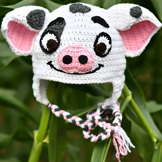 ravelry pua the pig pattern by hats by tracy