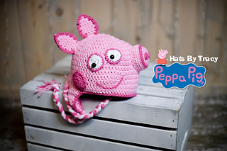 Ravelry Peppa Pig Hat Pattern By Hats By Tracy