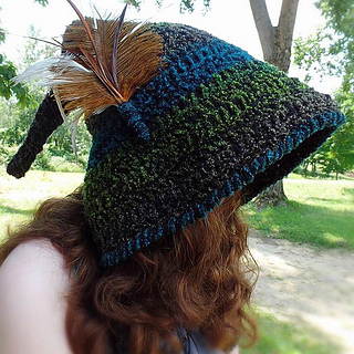 Ravelry  Woodland Fairy Hat pattern by Melivia Mutch 7f40389c602