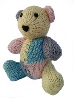 Ravelry: Classic Teddy & Bunny - Patchwork pattern by Two Sisters