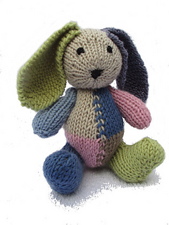 Classic Teddy & Bunny - Patchwork pattern by Two     - Ravelry