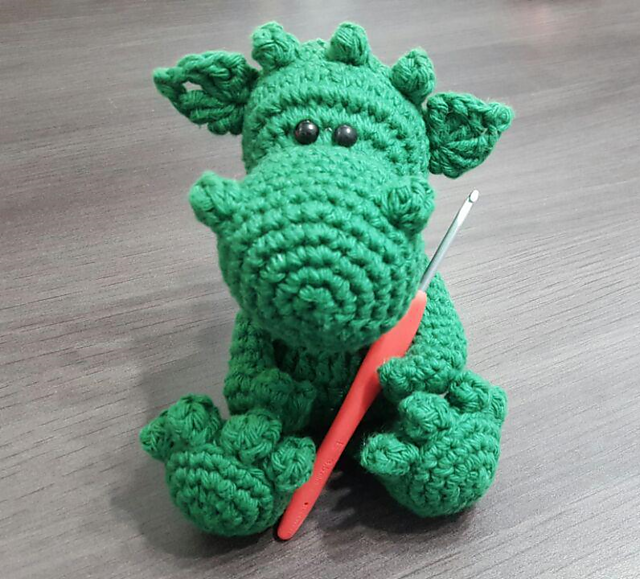 Ravelry How To Crochet Your Dragon Pattern By Ka Marinka