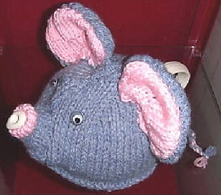a5bf1b48a Ravelry  Ellie The Elephant Tea Cosy pattern by Pamela Lang