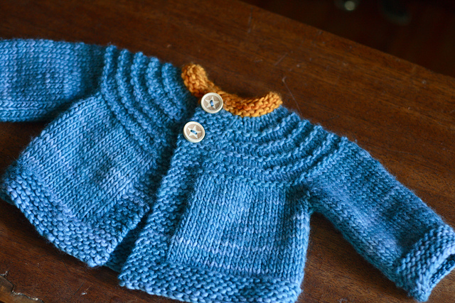 Ravelry Baby Boy 5 Hour Sweater Pattern By Gail Bable