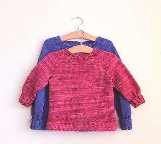 249a7b4b45e6 Ravelry  Kids  Basic Raglan Sweater pattern by Catherine McMillan