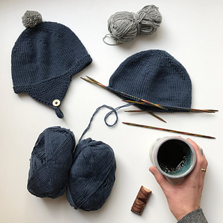 Ravelry  Albert s Pilot Hat pattern by PetiteKnit f2dbc6eef2e
