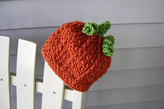 Ravelry Newborn Baby Pumpkin Hat Pattern By Doris Yu