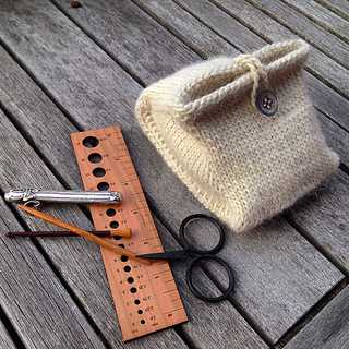Mirabilite Pouch pattern by Virginia Catherall
