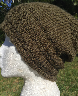 Ravelry  Banded Beanie Hat pattern by Virginia Davlin 8ef224189e1