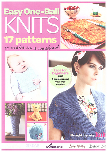 Ravelry Lets Knit Magazine 68 July 2013 Easy One Ball Knits