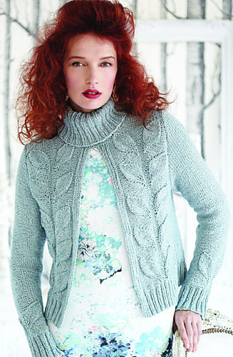 PATCHWORK CARDIGAN Vogue Knitting Fall 2003 #3