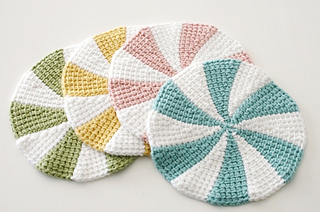 Ravelry Tunisian Shaker Dishcloths Pattern By Staci Perry
