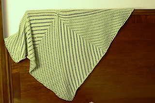 b2c1bea8b Ravelry  Eyelet Baby Blanket pattern by Staci Perry
