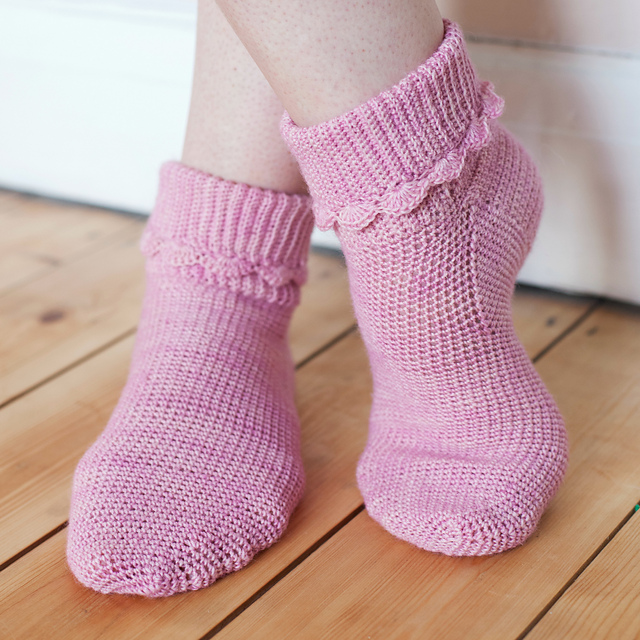 Ravelry Hop Socks Pattern By Vicki Brown