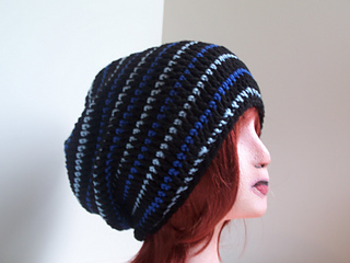 d1d9c20f60b Ravelry  Bus Driver Slouchy Hat pattern by Kristina Olson