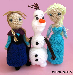 Ravelry: Frozen Bundle Amigurumi Pattern - patterns