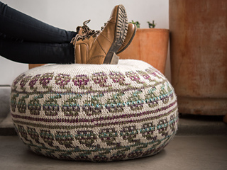 Ravelry: Dewberry Hassock Pattern By Barbara Benson