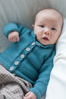 d107520d4bce Ravelry  Jacket With Moss Stitch Bands pattern by Debbie Bliss