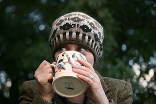 Tea Jenny pattern by Kate Davies