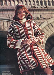 Ravelry: Hooded Toggle Jacket pattern by Gabriele Knecht