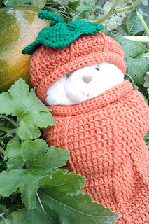 Ravelry  Thanksgiving Pumpkin Hat pattern by Wendy M. Anderson 656639377b2