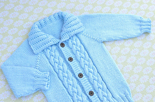 c39b731af Ravelry  Seamless Braided Cable Sweater pattern by Christy Hills