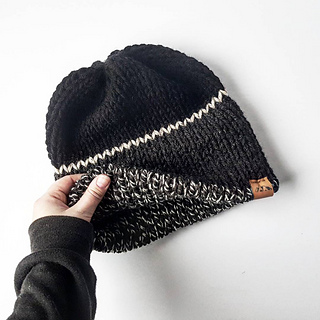 8e2fce6d1b5 Ravelry  Tullamore Double Brim Beanie pattern by Mollie Conrad