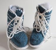 Babybooties-med-snring-grnn-hvit5_small_best_fit