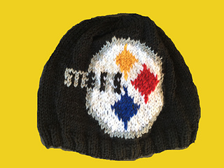 4b1f2055419247 Ravelry: Steelers Beanie pattern by Genevieve Krzeminski