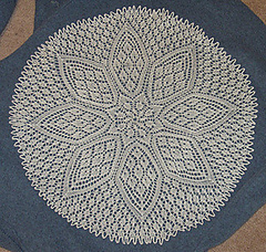 Ravelry: Knitted Petal Doily pattern by American Thread ...