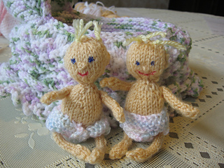 Ravelry Tiny Knitted Baby Doll Pattern By Diane Wonderly
