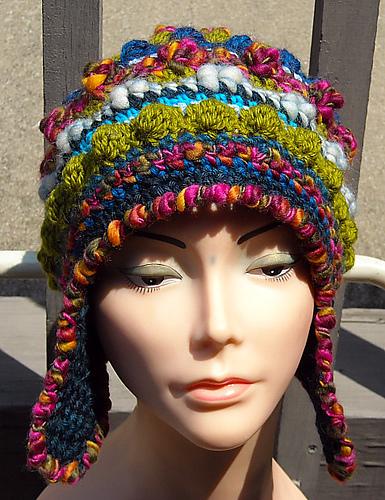 Ravelry Freeformfreestyle Helmet Hat Pattern By Woolmountain Studio