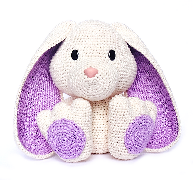 Ravelry Easter BUNNY Pattern By RoKiKi Fascinating Crochet Rabbit Pattern