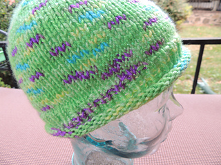Ravelry  Simple Roll Brim Hat for a Child pattern by YaYa Lovestoknit 95e6c7ecb71