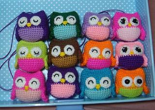 Cute Little Amigurumi Owl : Ravelry little owls pattern by amy chou